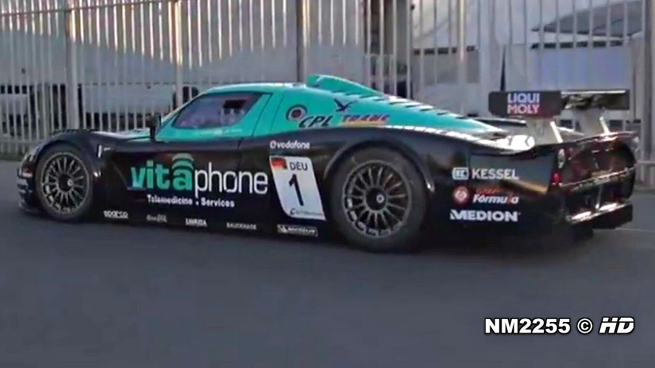 Maserati mc12 corsa engine