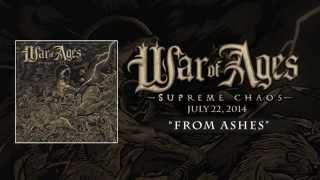 WAR OF AGES - From Ashes (Lyric Video)