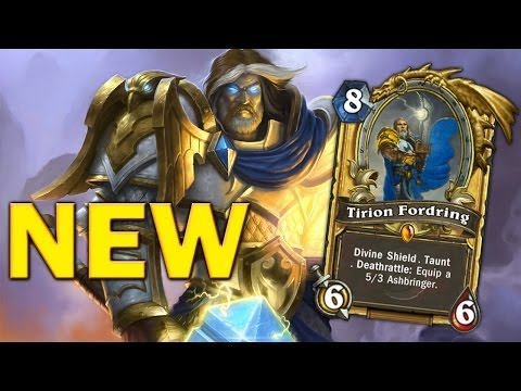 Hearthstone - New Tirion deathrattle animation