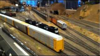 Glendale Model Railroad Club HO Run Session 3-10-12
