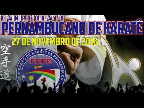 Video Chamada Campeonato Pernambucano de Karate 2016