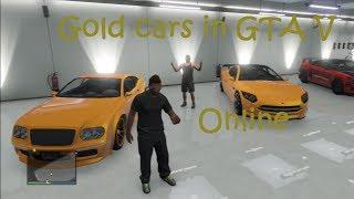 How To Get Golden Car Paint Job In Gta V/Online
