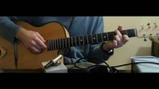 """""""Back To The Future"""" Theme Song, Guitar Instrumental"""