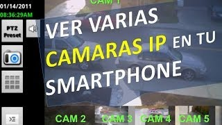 Conectar Y Ver Varias Camaras IP Por Internet En Tu