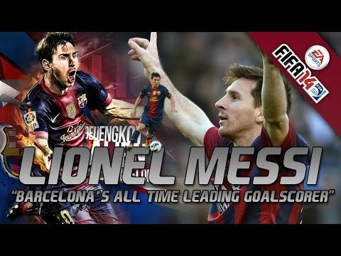 FIFA14 | Lionel Messi | Barcelona's All-Time Leading GoalScorer - Legend - 371 Goles