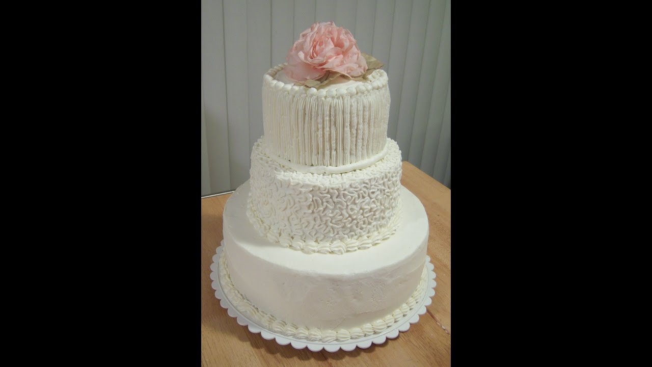 Do It Yourself Wedding Cake for Under $50