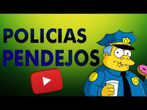 POLICÍAS PENDEJOS || CAIDAS, FAILS,CHOQUES, PELEAS.