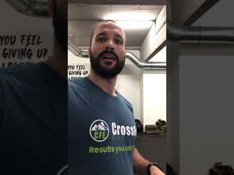 CrossFit Explore 08/01/2021