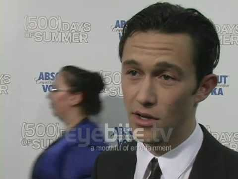Joseph Gordon-Levitt has a Natalie Portman Actor Crush, EyeBiteTV Presents: Joseph Gordon-Levitt at the 500 Days of Summer Premiere in Los Angeles. He admits to having an actor crush on Natalie Portman and he lets...