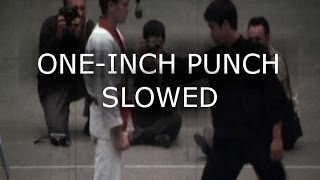 Bruce Lee One And Six Inch Punches Slowed Down