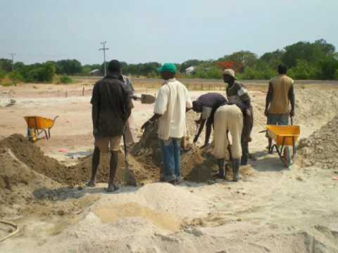 Construction in Zambia: Week #14 in Pictures
