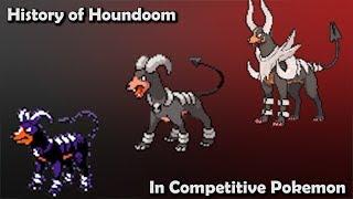 How GOOD was Houndoom ACTUALLY? - History of Houndoom in Competitive Pokemon (Gens 2-6)