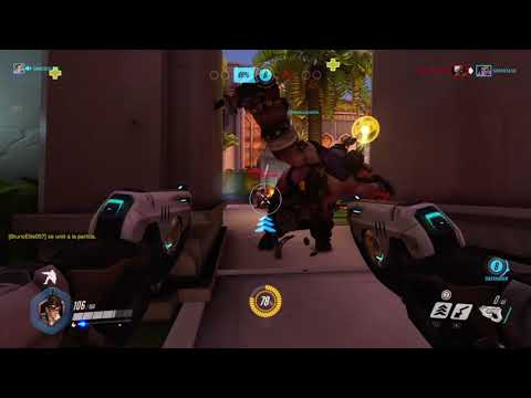 Overwatch primer gameplay con  Tracer