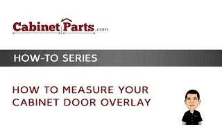 How to measure your Door Overlay - YouTube