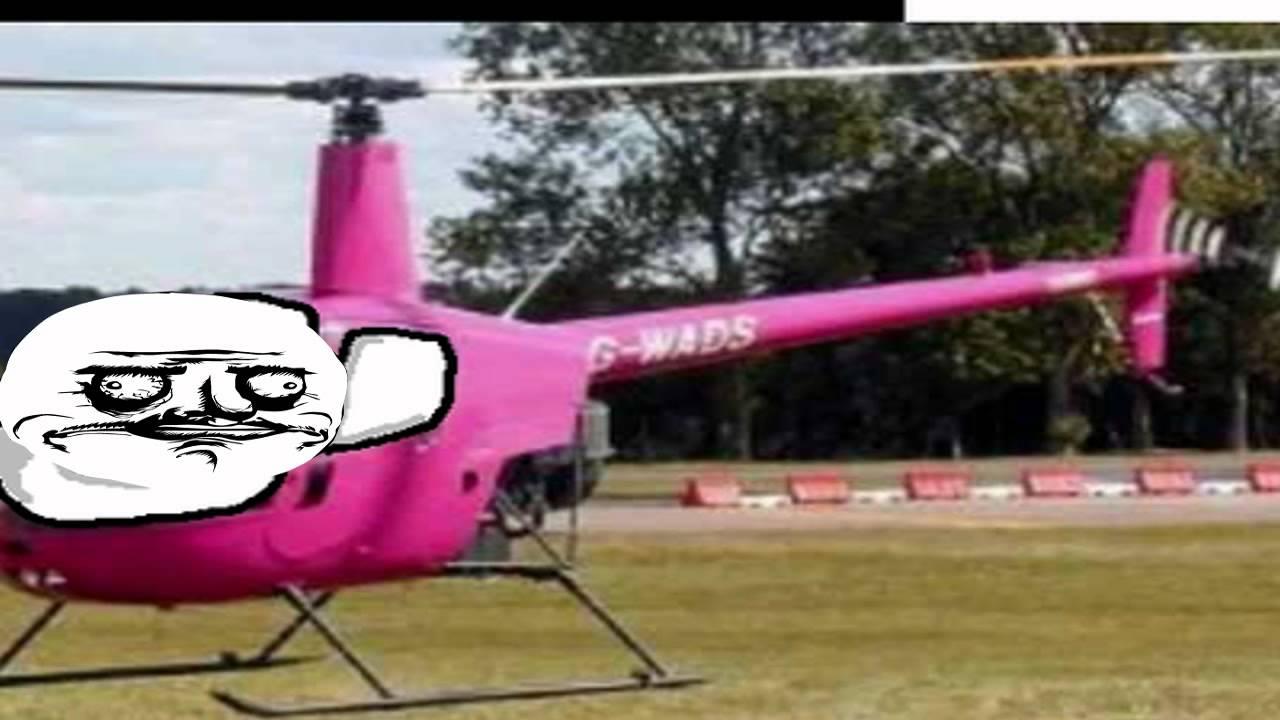 rosa helikopter