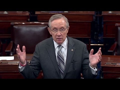 Harry Reid: I'm very disappointed in Boehner