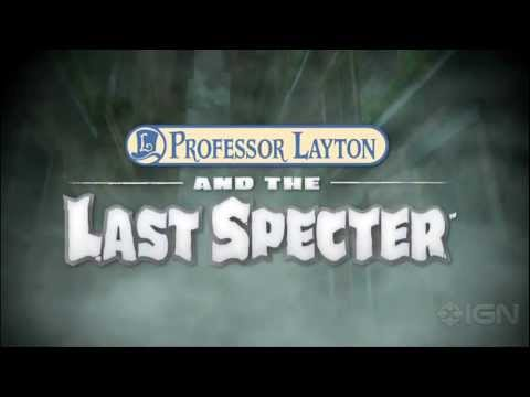 Professor Layton and the Last Specter: Trailer,  Layton and the Last Specter: Trailer