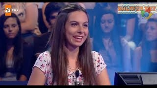 Kim Milyoner Olmak Ister 254. bölüm Ebru Topçu 29.07.2013
