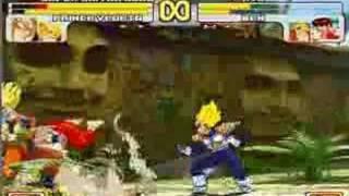 Dragonball Z Vs. Street Fighter