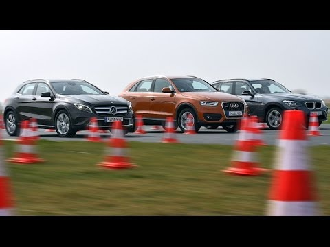 Mercedes GLA vs. Audi Q3 vs. BMW X1