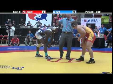 86 KG - Phil Keddy vs. Ed Ruth