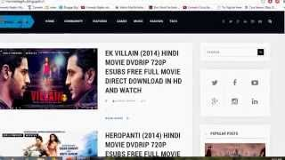 Latest Direct Link Hollywood,Bollywood Movies And Video