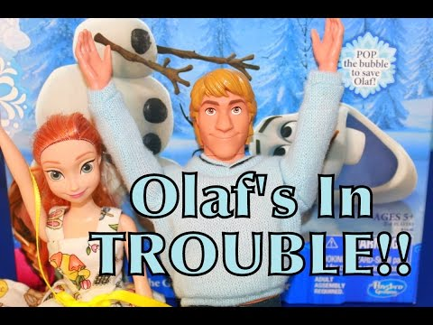 FROZEN Olaf's In TROUBLE AllToyCollector Disney Princess Barbie Parody Anna & Kristoff