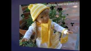 KNITTING FOR DOLLS Knitting And Crochet Patterns For 18
