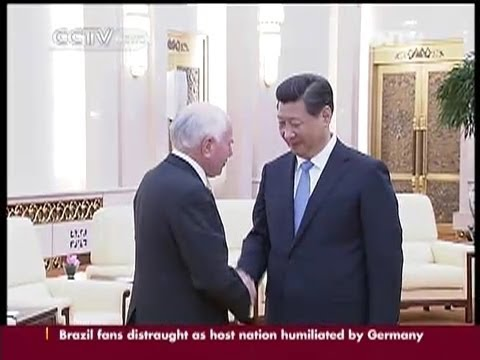 Xi Jinping meets Russian presidential chief-of-staff