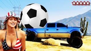 GTA 5 World Cup 2014 How To Play Soccer On GTA V Mini