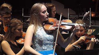"Elsa plays ""Frozen"" by Vivaldi - Violin Concerto No. 4 in F minor, Op. 8,  Winter  from Four Seasons"
