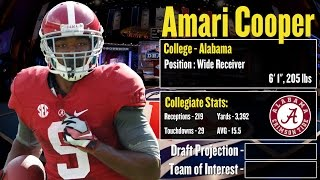 2015 NFL Draft Profile: Amari Cooper- Strengths And