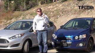 2014 Chevy Sonic Turbo Vs Ford Fiesta Vs The Ike Gauntlet