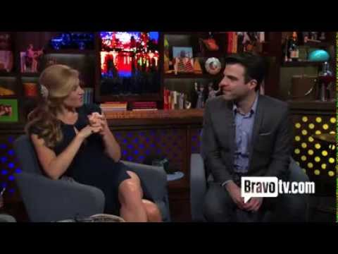 WWHL After Show - Connie Britton and Zachary Quinto