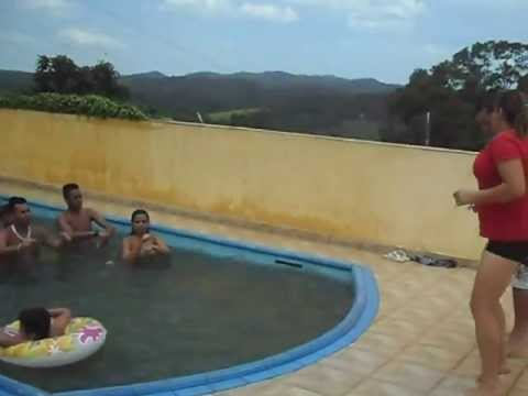Bate com bumbum na agua Turma do Band Virada do ano 2012 (2013)
