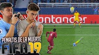 ¡PENALTIS DE LA MUERTE FIFA 19! *mezcla vomitiva*