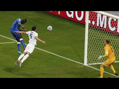 Balotelli Header Leads Italy 2-1 over England! - World Cup 2014