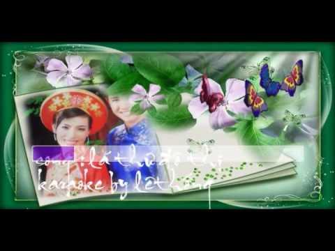 karaoke nhac song la thu do thi