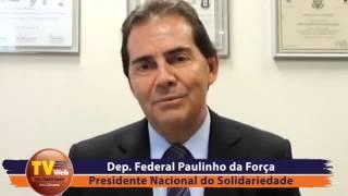 Presidente nacional explica ação do Solidariedade pela correção do FGTS