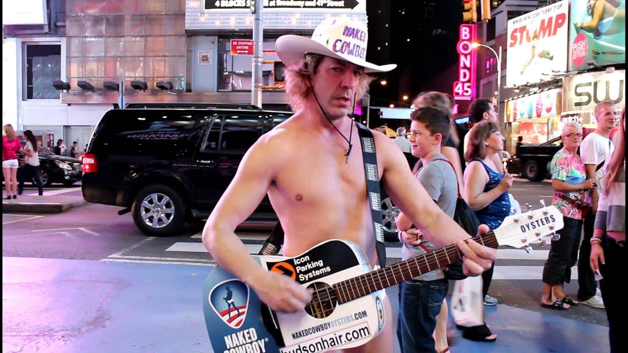 Naked Cowboy - YouTube