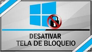 Como Desabilitar A Tela De Bloqueio Do Windows 8 / 8.1