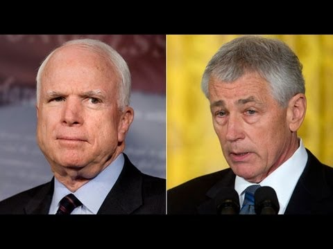 John McCain Begs Hagel For Iraq War Vindication