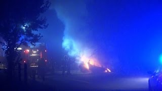NRWspot.de | Hagen – PKW verunfallt und ausgebrannt