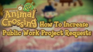 Animal Crossing New Leaf :: How To Get More Public Works