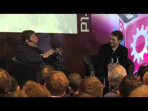 Steve Wozniak Keynote at Apps World Europe 2013