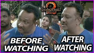 A fan reaction before and after watching Baahubali 2..
