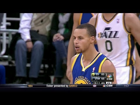Stephen Curry Full Highlights at Jazz (2013.11.18) - 22 Points, 8 Assists