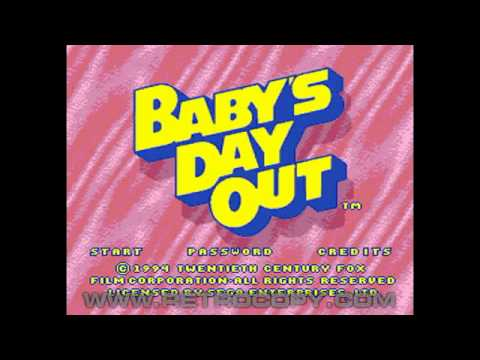 Baby's Day Out (Sega Genesis / Mega Drive) Intro