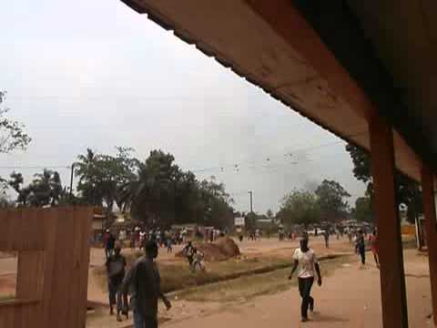 Central Africa - mission Hope On Road - Seleka attack
