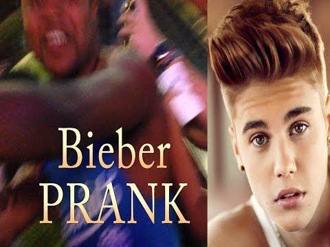 Justin Bieber Prank- Arrested?!, Funny
